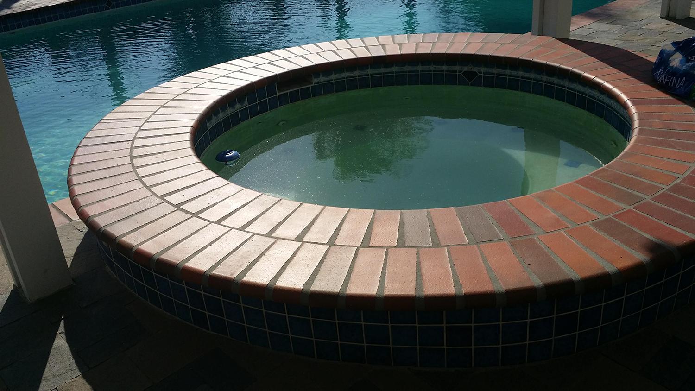 Jacuzzi Tile Repair Project