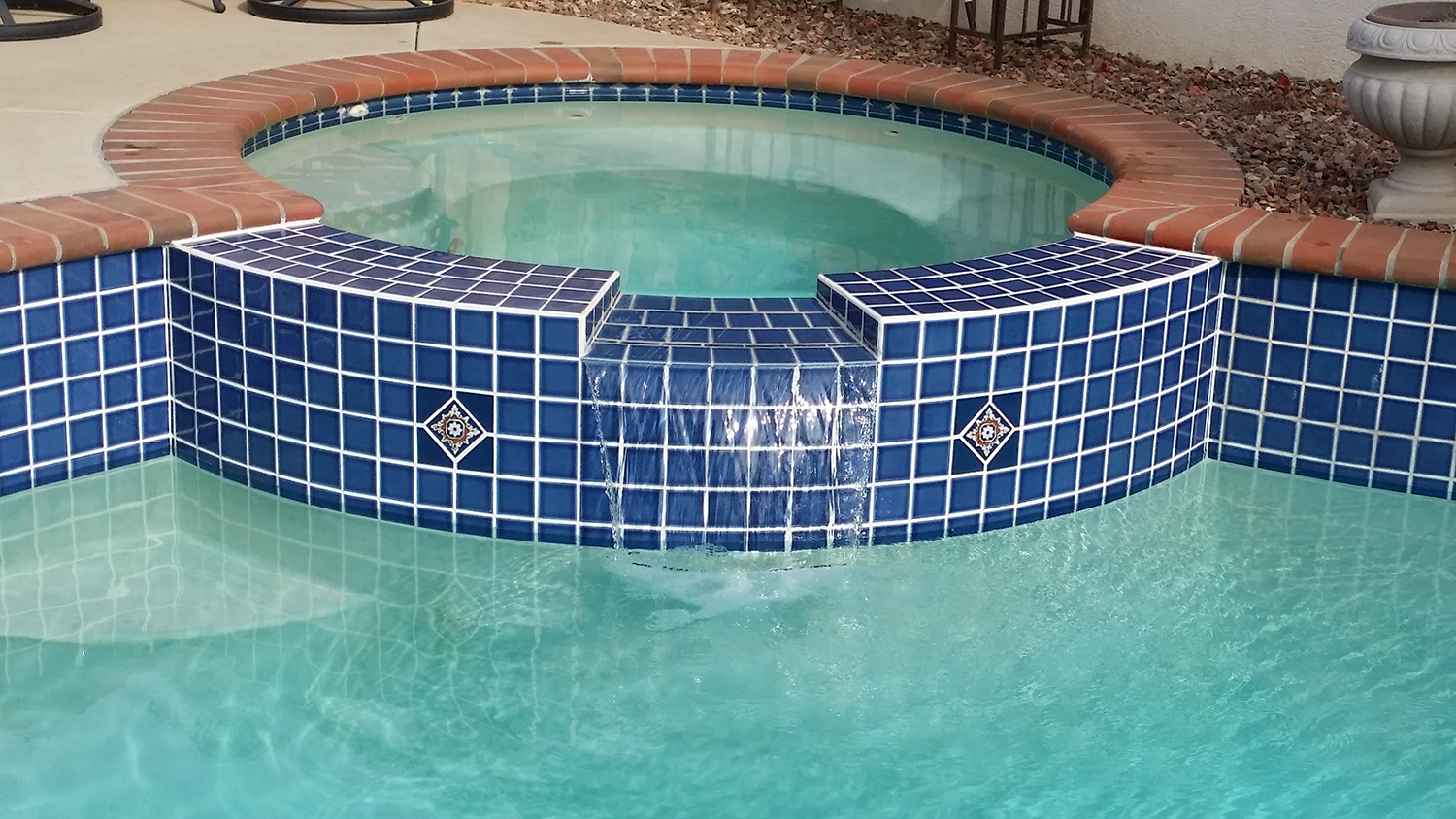 Jacuzzi Tile Repair Project