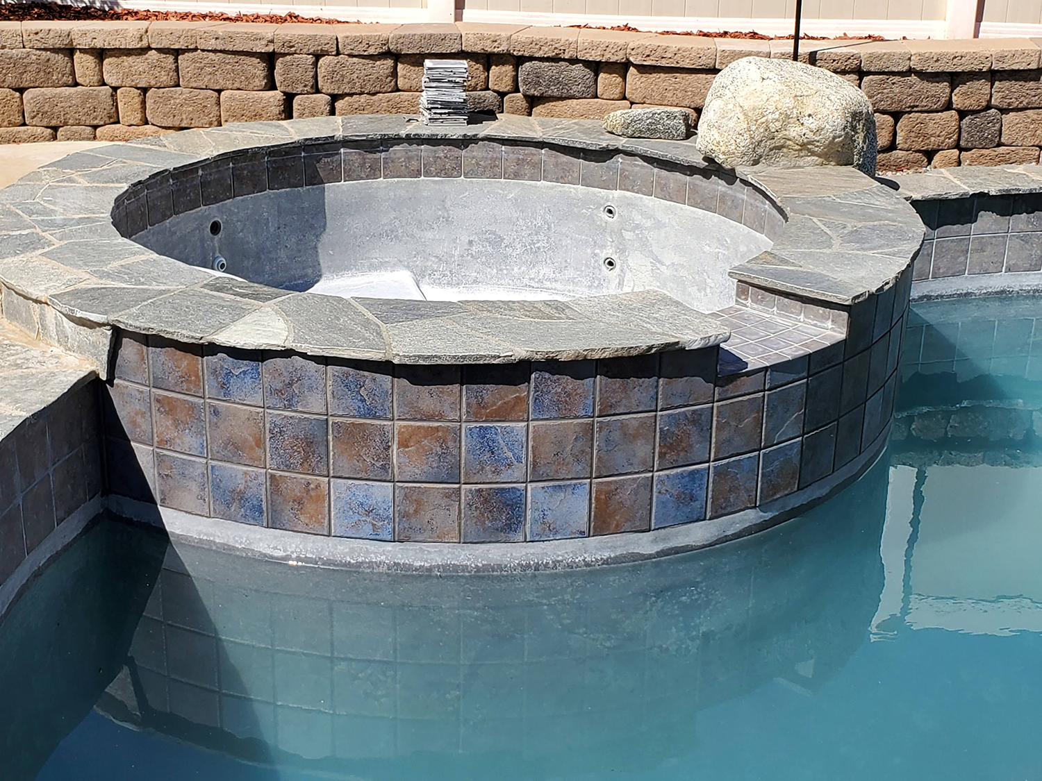 Jacuzzi Tile Repair